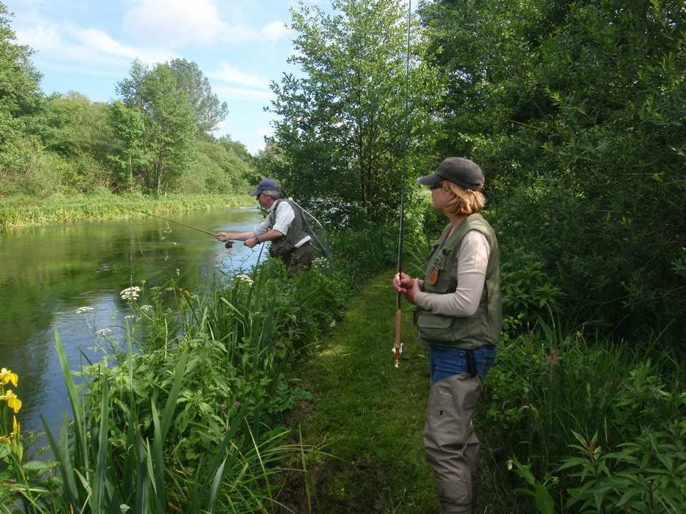 June fishing on the middle Itchen